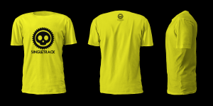 T-Shirt Single Track Asd Mondello Bikers